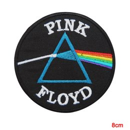 Pink Floyd Dark Side Of The Moon Sew Iron on Patch Embroidered Vest Jacket Cartoon Minioned Clothes Patches