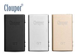 Cloupor gt en Ligne-Wholesale- Original Cloupor GT 80W double 18650 batterie de contrôle de la température Mod Mod Mod Cloupor 80W pour 18650 batterie E Modules de cigarette