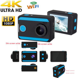 Ultra 4K H26 12-megapixel HD 1080P Action Camera 2.0 inch 170HD WiFi Waterproof Camcorder Sports Camcorder 6pcs lot