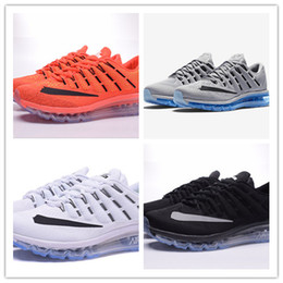 Wholesale 36 Mesh air cushion man and women maxes all black all white red pink gray with box