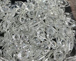 DIY fashion style Rhine stone Silver band size about 20mm 50pcs butterfly accessories free shipping