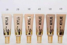 Wholesale 2016 New Kylie liquid foundation Makeup Face Powder kylie Foundation professional matte concealer colors supply