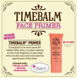 Wholesale The Balm Primer New Liquid Foundation Base Visage Sunscreen Blushes Makeup Face Foundation