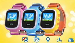 2017 dispositivo de niño perdido GPS Q60 Reloj pantalla táctil WIFI Posicionamiento Smart Watch Niños SOS Llame Ubicación Buscador Dispositivo Anti Lost Recordatorio dispositivo de niño perdido promoción