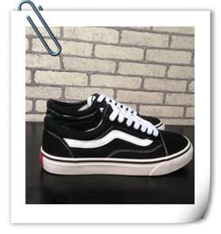 Wholesale 2016size Old Skool Suede VS Zapatos de lona Unisex Zapatos zapatos de marca para hombres y mujeres zapatillas