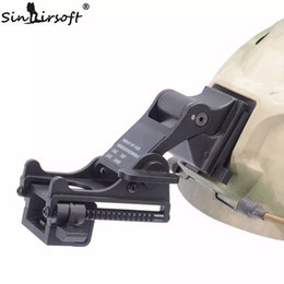 Wholesale SINAIRSOFT NVG Mount Arm MICH M88 FAST Helmet MOUNT KIT Airsoft Tactical Army Night Vision Goggle For Helmet Accessories Rhino NVG PVS
