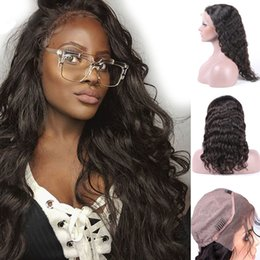 8A Grade Brazilian Wet and Wavy Lace Frontal Human Hair Wigs For Black Women Glueless Loose Wave Lace Front Wigs With Baby Hair