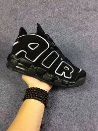 Wholesale Genuine shoes news air mores quickly and rhythmic pippen Olympic training shoes men sneakers outdoor qualitative