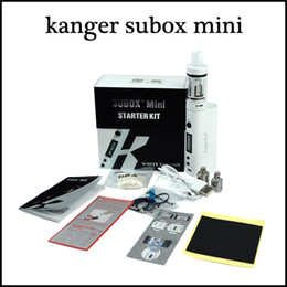 kanger subox mini starter kit 2015 newest clone Kangertech Kanger Subox mini satrter kit VS topbox mini kit