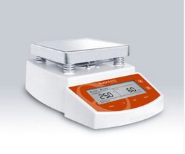 Wholesale Freeshipping by DHL PC Digital Thermostatic Hot Plate Magnetic Stirrer Mixer MS400 Digital display temperature magnetic stirrer