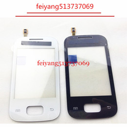 "20pcs TOP Quality 2.8"" Touch Screen Digitizer Front Glass LenS For Samsung S5300 by DHL EMS"
