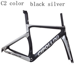 2017 Cipollini NK1K T1000 1k o 3K que compite con el tamaño completo XXS XS S M L del marco de la bici de la bicicleta del marco del camino del carbón desde marcos de carreras fabricantes