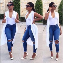 2017 синяя панель 2016 Продажа Реальный L S M Xl синий панелями Длинные штаны карандаш Регулярные женщины Vintage отверстия разорвал Джинс Уличное отверстие в женской ноги ноги штаны синяя панель продаж