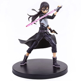 Anime Sword Art Online Kirito Second generation PVC Action Figure Collectible Model doll toy 17cm