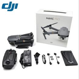 Promotion gps quadcopter fpv En stock! DJI Mavic Pro FPV RC Quadcopter intégré OcSync GPS avec 3 axes Gimbal 4K HD Caméra