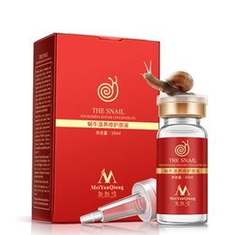 Wholesale Snail Nourishing Repair Concentrate Liquid Pure Plant Extract Hyaluronic Acid Anti Acne Rejuvenation Serum Liquid Whitening MEIYANQIONG