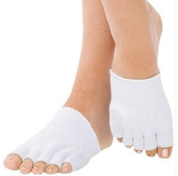 Wholesale pair Moisturizing Spa Gloves mask health oil lubrication hand lady beauty comfort new pedicure dead skin callus smooth