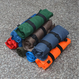 Wholesale Randomly Automatic Inflatable Air Cushion Pillow Portable Outdoor camping Travel equipment