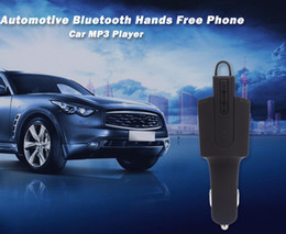 Wholesale in Wireless Bluetooth Headset Car Charger Automotive BT Handsfree Phone Music Audio Receiver Car MP3 Player for Business