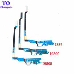 100Pcs DHL Free NEW Charging Port Dock USB Connector Flex Cable for Samsung Galaxy S4 I9500 I9505 I337 M919 R970 I545 L720