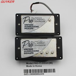 Wholesale 1 Set EPi ProClassic Alnico Electric Guitar Humbucker Pickups with Pro Wiring Harness