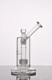 Glass Bong Thick Mobius Stereo Matrix Perc- New Recycler Oil Rigs Glass Water Tube with Stereo Perc heady glass oil rig