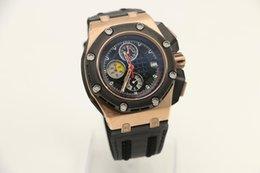 Wholesale Luxury Brand AP Quartz Men Watch Royal Oaks mm Black Dial Rubber Band Male Clock Montre Homme