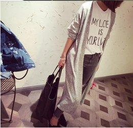 Promotion noir cardigan tricoté Grossiste - 2016 Livraison gratuite Cardigan femmes décontracté gris doux gris noir cheville tricoté manches longues Femmes longs chandails cardigans