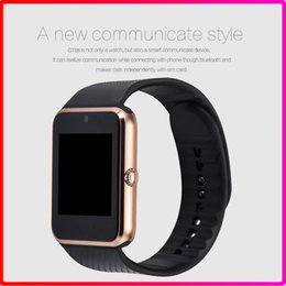 Wholesale GT08 Fitness Smart Watch support SIM and TF Card Bluetooth smart watches with Camera and MP3 for IOS and Android
