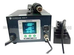 Descuento pantallas digitales Venta caliente, 220V 2 en 1 estación de soldadura Gordak 952-V de la pantalla del color de Digitaces por el control inteligente, ENVÍO LIBRE MYY