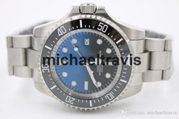 Wholesale Luxury Men s MENS DEEP Ceramic Bezel mm SEA Stanless Steel Clasp Year UNWORN Automatic mens Watches Sapphire