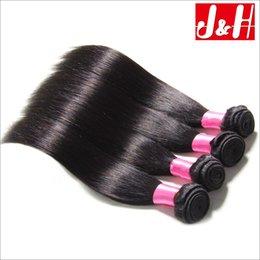 Peruvian Virgin Hair Straight Human Weave 8 '' - 28 '' Inch 3,4 Lots Extensions de Cheveux Lisses Non Transformés Cheveux Humains Péruvien Straight Weave 14 inches straight weaves deals à partir de 14 pouces de tissages droites fournisseurs
