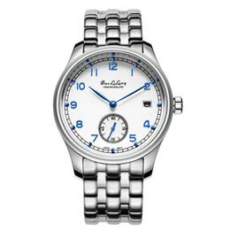 Reloj de cuarzo de acero inoxidable BAOLILONG auténtico masculino, moda simple y clásica, mesa de ocio para señoras al por mayor y al por menor
