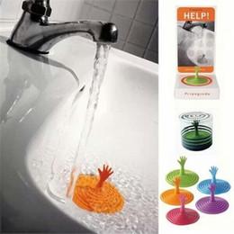 Wholesale Imaginative Bathtub Stopper Kitchen Bathroom Sink Basin Strainer Hair Trap Bath Plug Hole Waste Filter Drain Dopant Sink Waste Strainer Bask
