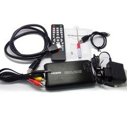 Wholesale Vente en gros D P H RM MKV HDMI HD Media Player Full HD Center SATA HDD Enclosure Car adaptateur Livraison gratuite