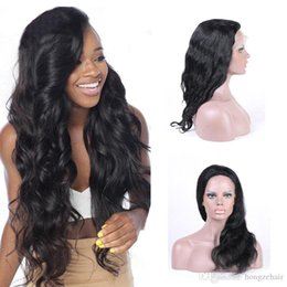 Pre Plucked 360 Frontal With Natural Hairline Peruvian Body Wave Human Hair Full Frontal Lace Closure Hand Tied Free Shipping