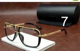 Wholesale Men Women Plank Czal Sunglasses New Glasses Famous Eyewear Brand New Designer Luxury Sunglass Vintage Eyeglasses ca
