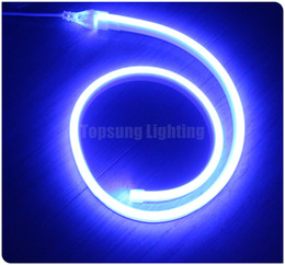 50m spool 11x19mm Flat ultra thin led neon lighting flexible strip neon-flex rope 220V 110V for outdoor