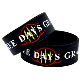 Wholesale 50PCS Lot Three Days Grace Silicone Wristbands 1 Inch Wide Bracelet Perfect Gift for Music Fans