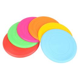 Compra Online Juegos para niños-Venta al por mayor-niños volando disco juguetes de silicona frisbee padre-niño interactivo juegos de deportes al aire libre desarrollo de niños 'agarrar abilidad regalos