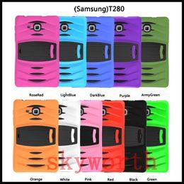 Heavy duty shockproof case Kickstand for Ipad pro 9.7 Samsung GALAXY Tab E T560 Tab A T580 T280