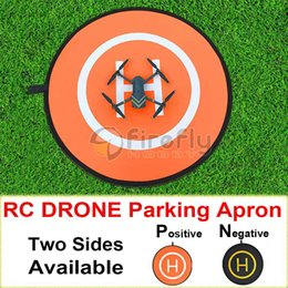 Promotion dji inspirer drone Wholesale- Tablier de stationnement Portable pliable rétractable Multicopter Drone Landing Field Pad Air Base pour DJI Phantom 3/4 Inspire 1
