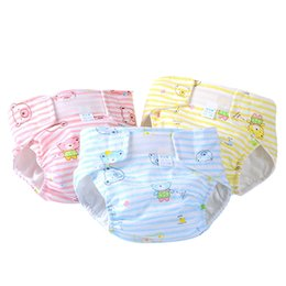 Baby Diapers Waterproof Adjustable Cotton Baby Nappies Training Pants Reusable Baby Diaper Infant Nappy Cloth Diaper Washable VT0017
