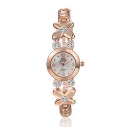 Sale New 2016 High Quality Women Wristwatches Stainless leaf shaped watch SOXY Women Rhinestone Watches Unique design Quartz Wristwatch
