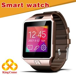 DZ09 Smart Watch Connexion Bluetooth Smart Phone SIM Phone Étape Gauge Sommeil sain Anti Perdu Positionnement Smart Watch Facebook Twitter à partir de perdu android fournisseurs