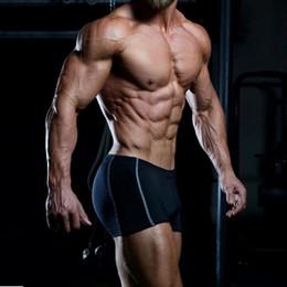Al por mayor de la ingeniería en venta-Venta al por mayor- Gimnasios Shorts Mens Bodybuilding Marca Ropa Shorts Poliéster Spandex Bermudas Masculina de marca Body Engineers GASP Gymshark