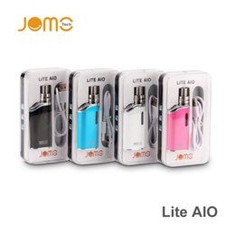 Wholesale New Jomo Lite AIO kit All in one design mini size child lock TPD mod kit mah Battery ml W W W Adjustable