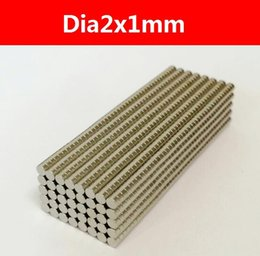 2016 New Mini small Disc Rare-earth Magnet Neodymium super Strong Permanent Magnet Neo 1000pcs pack Dia2x1mm, Free Shipping
