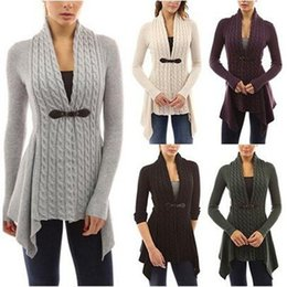 Promotion cardigan tricoté noir Femmes Lady Girls Mode Casual Spring and Autumn Black V-neck à manches longues en tricot Cardigan Sweater Outwear 3110