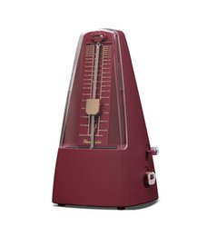Wholesale Plastic Pyramid traditional Music Mechanical Metronome special color Music Metronomes Piano Violin Guitar Music Instrument